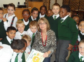 Storytelling at Pinehurst Primary, Cape Town
