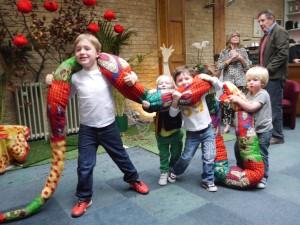 The Bojabi python visits Omnibus Theatre Clapham