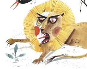Bojabi Lion  angry