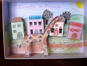 Zeraffa walks through France made by Amelia